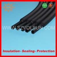 High Performance Polyolefin Heat Shrink Plastic Tube For Electrical Wire