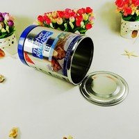 factory sale milk powder round food grade metal can