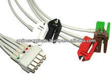 ECG Lead Wires For Button & Clip Type HP / Philips