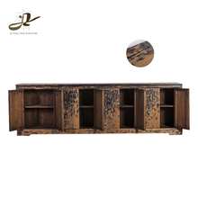 Chinese antique vintage recycled wood furniture sideboard cabinet