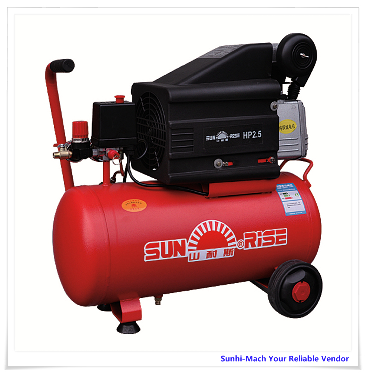 FL2025 model 220V 2 hp direct driven portable silent piston mini air compressor 25L 50L