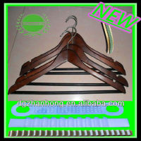(Non-slip strip) Strong aluminum clothes hanger