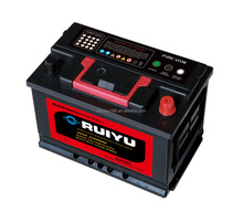 HUAYUAN Dry Charged atlas car battery/Auto Battery/ Korea mf battery Starting Battery with 12 months warranty