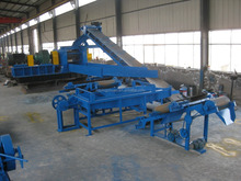 waste tire recycling rubber powder machine/tire shredder waste tyre recycling