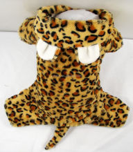 Free Sample wholesale printing plush fabric Pet clothes and animal print fabrics