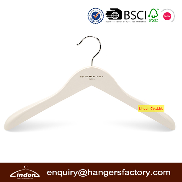 Assessed Supplier LINDON Deluxe Silver Grey Clothes Hanger