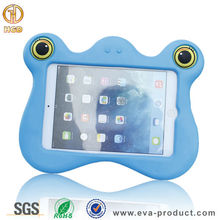 Professional EVA tablet case manufacture, unique cartoon design shock-resistant tablet kids case for kids