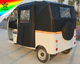 China High Quality Three Wheel Electric Covered Motorcycle Rickshaw For Sale