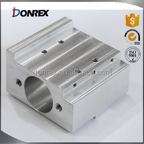 custom CNC machining Aluminum spring box with ISO 9001 made in China