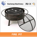 Outdoor Metal Firepit Backyard Patio Garden Bon fire heater Pit