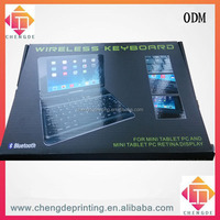 Bluetooth wireless keyboard for mini pad packing box