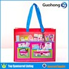 Colorful printing promotional non woven gift shopping bag with lamination