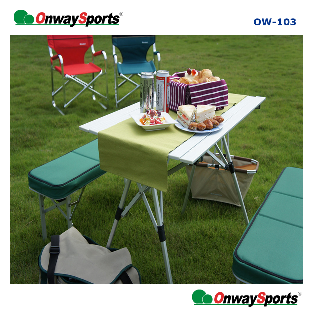 Multifunctional light weight picnic outdoor leisure folding <strong>table</strong> for wholesales