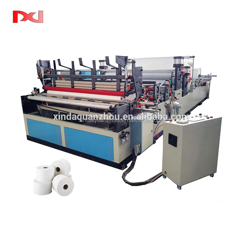 Bathroom roll tissue perforated machine