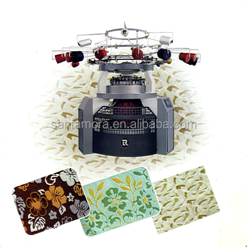 Four-color Computerized Carpet Jacquard Circular Machine