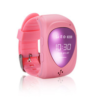 JM09 kids Smart Wrist Watch GPS Real-time Tracker Tracking Locater SOS Call mobile watch phone