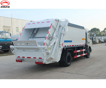 Dongfeng rear loading garbage compactor vehicle 4-6CBM, compactor garbage collecting truck, on sale price