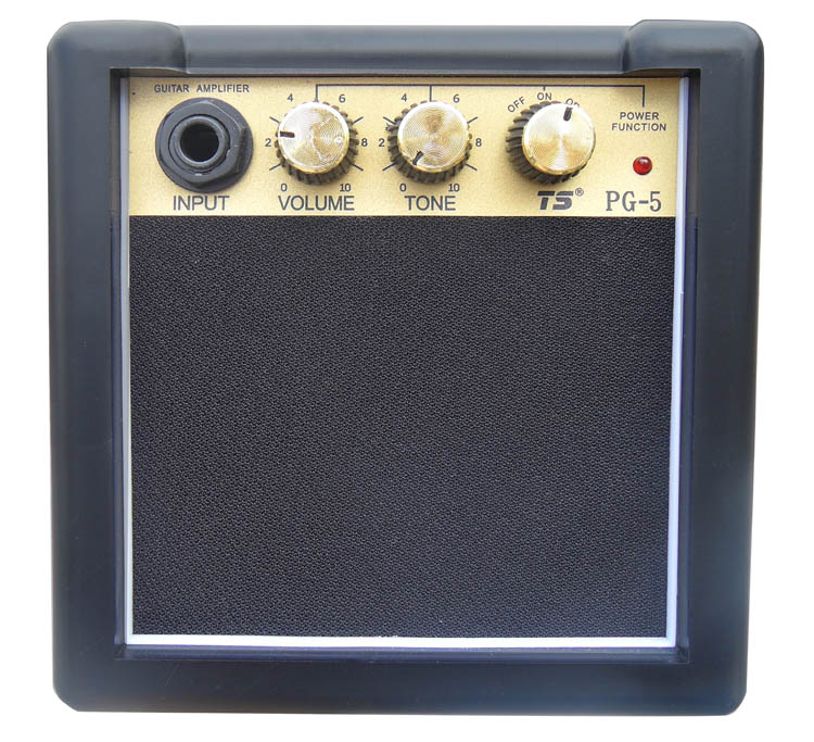 5 watt mini guitar amp for electric and acoustic guitar