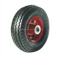 High quality 6''x2'' pneumatic wheel, 6 toy rubber wheels