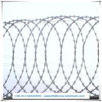 High security razor wire fencing / razor barbed wire