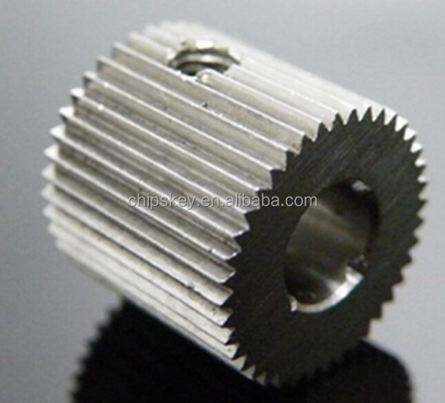 outside diameter:12mm <strong>Hole</strong>:5mm 40 Tooth MK7/MK8 Stainless steel Wire Feed Gear for 3D Printer/Extruder