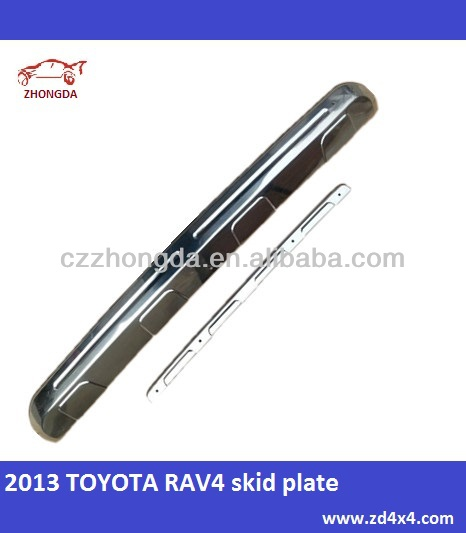 2013 TOYOTA RAV4 Stainless Steel skid plate,front and back skid plate for 13 toyota RAV4