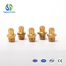 Hot sell top quality flush type brass grease gun nipple grease fitting