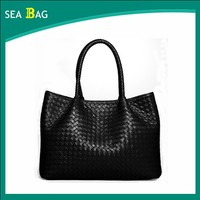 2016 High Quality Europe Style Leather Rattan Hobo Bag Import From China Manufacturers
