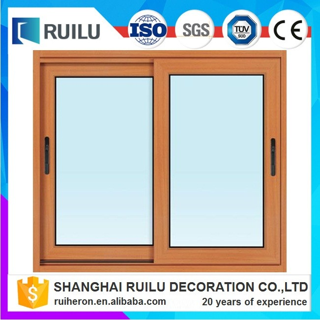Shanghai factory double glazed aluminium standard size of doors and windows