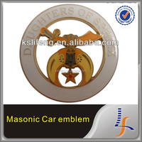 DOI Mason cut out car emblem