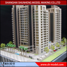 Beautiful Hand made Miniature House Apartment building model for India client