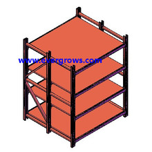 Industry Cable Storage Rack/ Warehouse Storage Equipment Shelf/Industrial Cable Reel Rack
