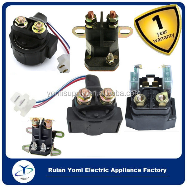 Starter Relay Solenoid MOTO-4 250 YFM250 1989-1991 ATV Magnetic Switch 300 FOURTRAX 88-00 725-0530, 725-0771, for Polaris atv