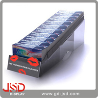 ISO9001,ITS,SEDEX Imported JSD Acrylic Display Stand Gift Card Display Rack