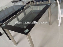 tempered glass portable eating table dining table designs