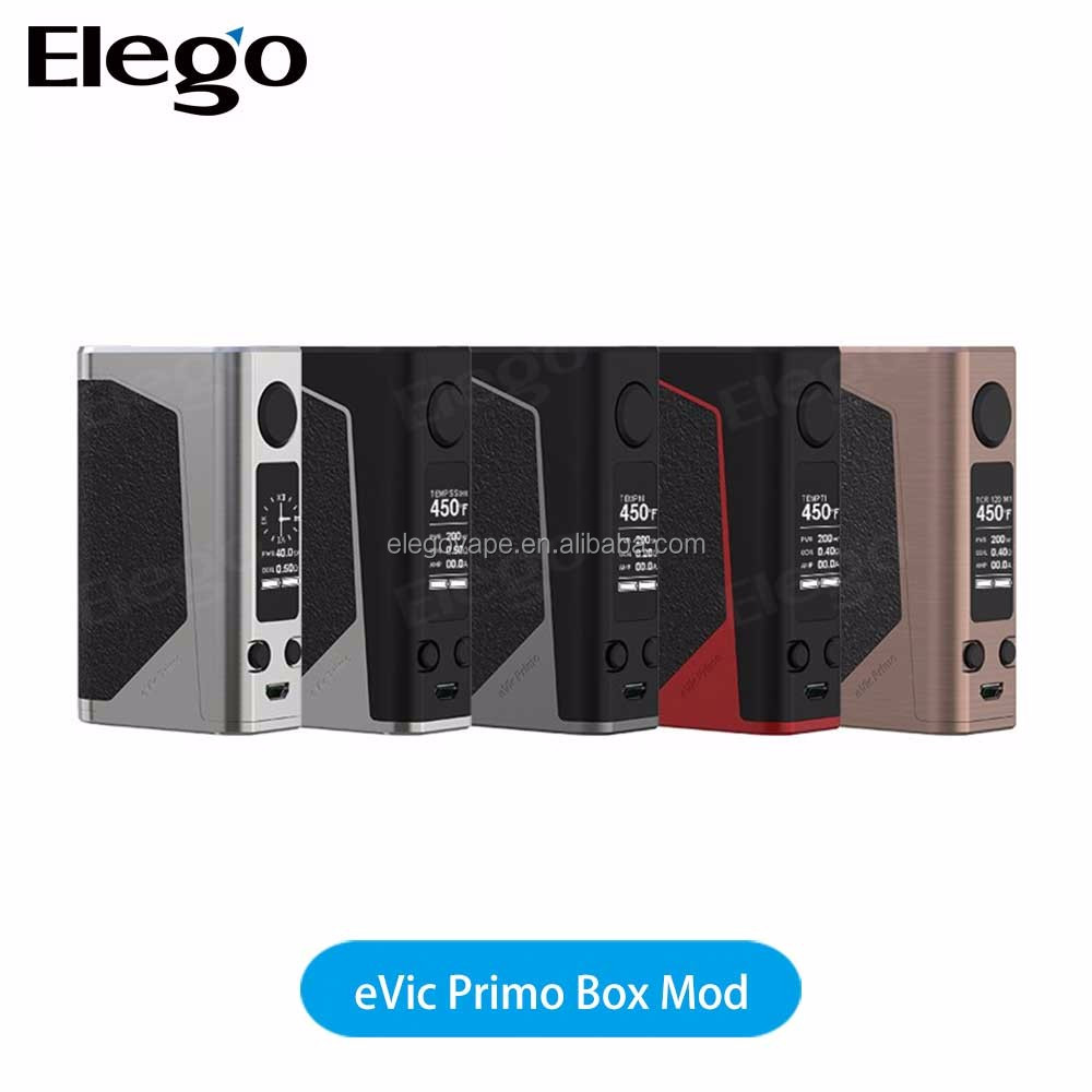 Authentic Joyetech eVic Primo Box Mod Powered by Dual 18650 High-rate Batteries 200w eVic Primo Box Mod 100% Original