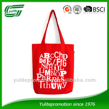 Customized branded printing cotton shopper