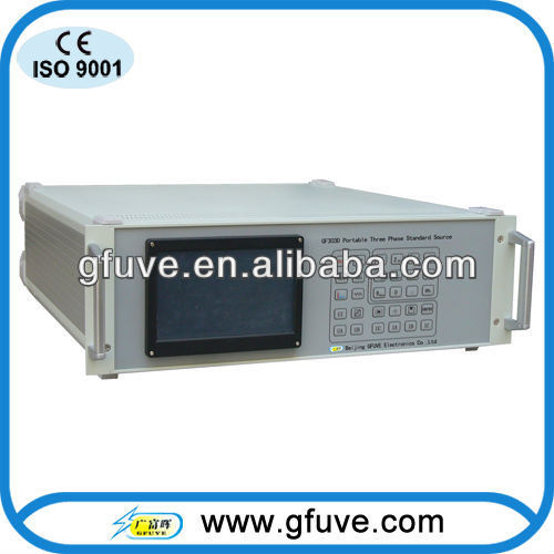 3 phase high accuarcy current source GF303D three-phase standard power source portable power source