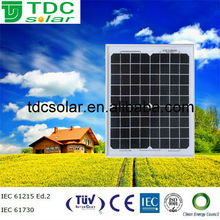 High quality small solar panel 10w pv module