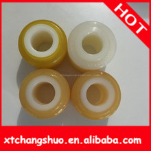 weld flanging copper bush Customized black auto silicone rubber bushing for shock absorber