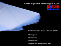 A3 Waterproof Clear Transparency Film For Inkjet Printer