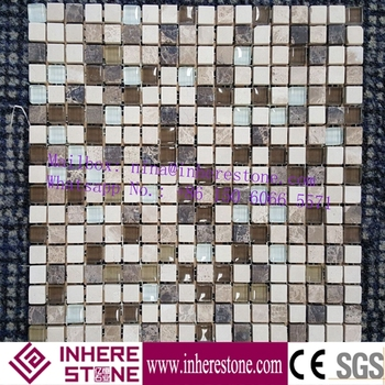 colorful marble bathroom mosaic tile for kitchen