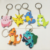 Wholesale Hot Selling Pokemon Go Figures PVC Keychains