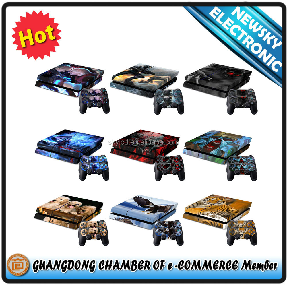 protector console skin sticker for PS4 vinyl stick for ps4 in stock