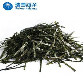 Halal seaweed/sushi nori factory threaded seaweed snack
