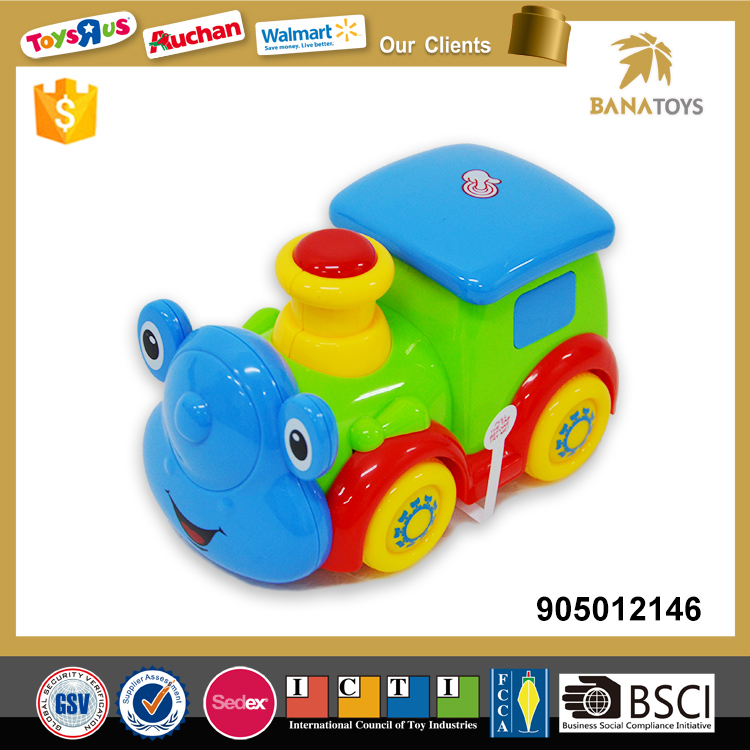 Cartoon design mini locomotive train toy
