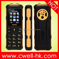ADMET B90 Emergency Power Bank GSM Mobile Phone Dual SIM Card FM Radio Built in Camera Old Model Mobile Phones