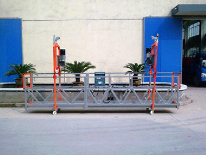 Exterior Building Facade Cleaning Electric Suspended Working Platform Gondola Cradle Buy