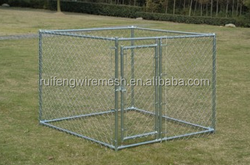 2016 new style hot dipped galvanized chain link dog kennel