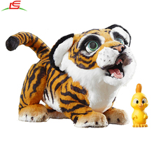 2017 hot selling kids friend furreal tiger plush toy